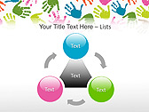 Colorful Hands Animated PowerPoint Template - Slide 5