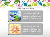 Colorful Hands Animated PowerPoint Template - Slide 9