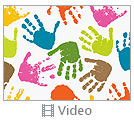 Colorful Hands Video