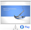 Anchor Animated PowerPoint Template