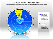 Circle Segments PPT Diagrams & Chart