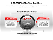 Colored Text Boxes PPT Diagrams & Chart