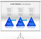Triangle Chart PPT Diagrams & Chart
