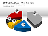 Circle Diagram PPT Diagrams & Charts - Slide 12