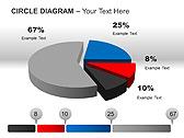 Circle Diagram PPT Diagrams & Chart - Slide 14