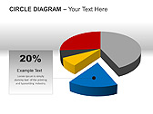 Circle Diagram PPT Diagrams & Charts - Slide 8