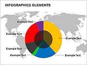 Info Graphic Elements PPT Diagrams & Charts
