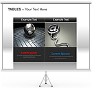 Tables PPT Diagrams & Chart