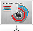 Arc and Circle PPT Diagrams & Chart