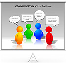 Communication PPT Diagrams & Chart