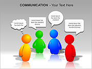 Communication PPT Diagrams & Charts