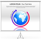 Globe PPT Diagrams & Chart