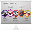 Timeline Gráficos e diagramas para o PowerPoint
