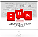 Customer Relationship PPT Diagrams & Chart