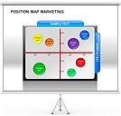 Position Map Marketing PPT Diagrams & Chart