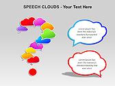 Речевые Облака Схемы и диаграммы для PowerPoint - Слайд 13