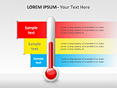 Thermometer PPT Diagrams & Charts - Slide 11