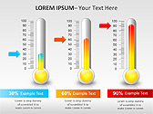 Thermometer PPT Diagrams & Charts - Slide 14