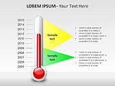 Thermometer PPT Diagrams & Charts - Slide 17
