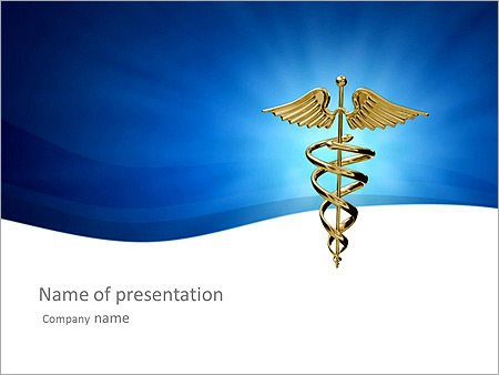 Well-Known Medical Sign Animated PowerPoint Template - Slide 1