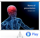 Anatomy Brain Animated PowerPoint Template