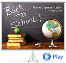 Back To School Animated PowerPoint Template