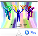 Abstract Team Animated PowerPoint Template