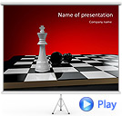 Chess Tournament Animated PowerPoint Templates