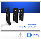 Domino Tournament Animated PowerPoint Templates