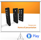 Domino Competition Animated PowerPoint Template