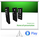 Domino Game Animated PowerPoint Template