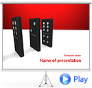 Domino Parts Animated PowerPoint Templates