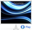 Dark Abstract Lines Animated PowerPoint Template