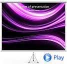 Abstract Lilac Lines Animated PowerPoint Template