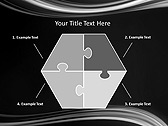 Black And White Abstraction Animated PowerPoint Template - Slide 11