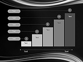Black And White Abstraction Animated PowerPoint Template - Slide 33