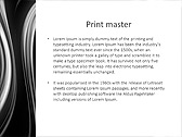 Black And White Abstraction Animated PowerPoint Template - Slide 35