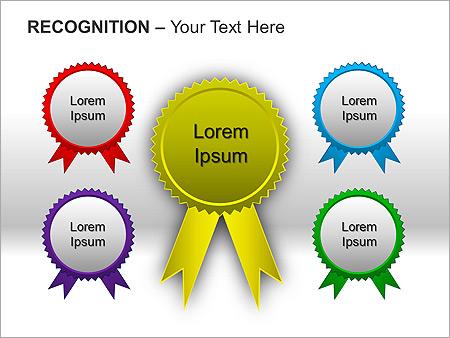 Признание Схемы и диаграммы для PowerPoint
