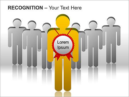 Признание Схемы и диаграммы для PowerPoint - Слайд 10