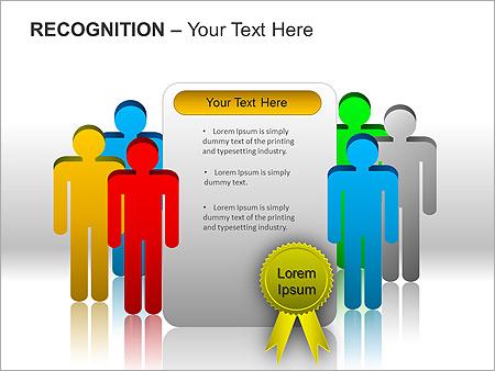 Признание Схемы и диаграммы для PowerPoint - Слайд 11
