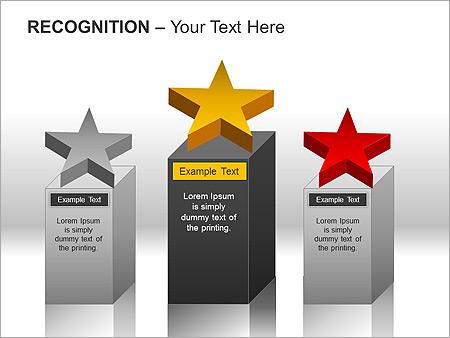Признание Схемы и диаграммы для PowerPoint - Слайд 7