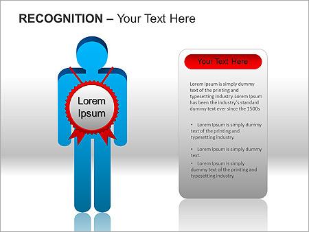 Признание Схемы и диаграммы для PowerPoint - Слайд 9