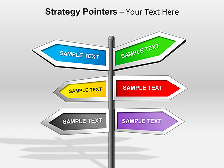 Strategy Pointers PPT Diagrams & Chart & Design ID 0000003252 ...