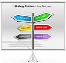 Strategy Pointers PPT Diagrams & Chart