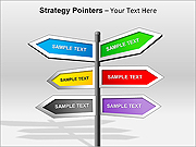 Strategy Pointers PPT Diagrams & Charts