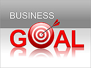Business Goal PPT Diagrams & Chart