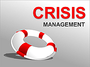 Crisis Management PPT Diagrams & Chart