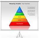 Hierarchy Of Needs PPT Diagrams & Chart