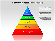 Hierarchy Of Needs PPT Diagrams & Charts