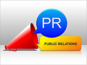 Public Relations PPT Diagrams & Chart